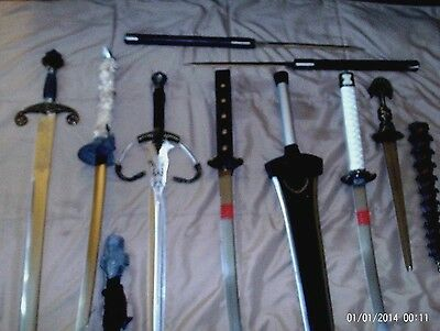 8 Swords Of All Type`s &design And Features.new,rare,vintage