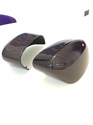 Ford Focus Carbon Fibre Wing Mirror Covers Caps Focus Mk2 Mk3 St Rs Tdci Mondeo.