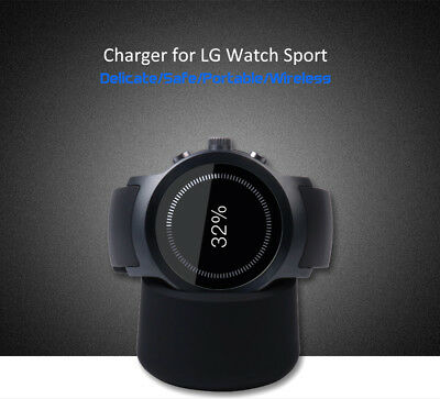 Wireless USB Charger Charging Cradle Dock for LG Watch Sport Smart watch