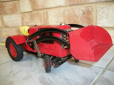 Tin Toy Tractor - Remote Controlled Battery Operated (Reduced In Price)