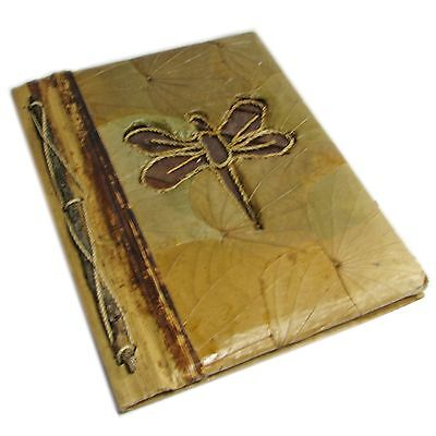 Rustic Dragonfly Leaf Address Book