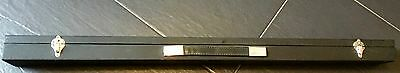 Snooker Cue Case - Black / Red - In Excellent Condition