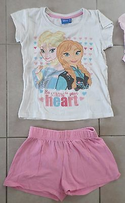 Pyjama Short Disney La Reine Des Neiges 8 Ans