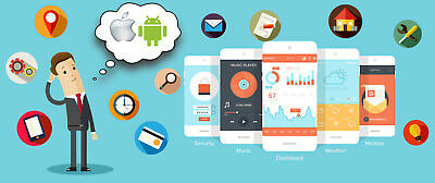 Bespoke Mobile app development for Android, iOS platforms and Website design