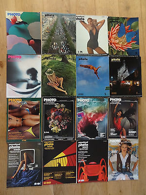 VINTAGE PHOTOGRAPHY MAGAZINES PHOTO TECHNIQUE INTERNATIONAL 1966 - 1985 16 mags