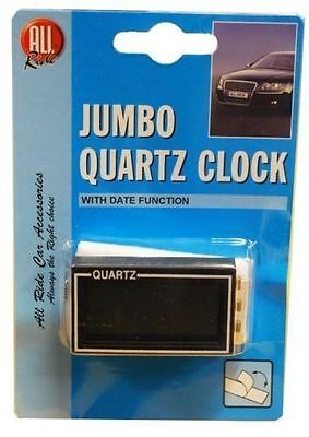 ALL RIDE JUMBO SELF ADHESIVE LCD QUARTZ CLOCK WITH DATE FUNCTION new