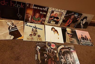 A Job Lot (Bundle) Of 12 Vynil Records 12 Inch Mix of Different Artists: BARGAIN