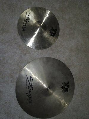 "Stagg YR-753 20"" Ride and 14"" bottom hi hat"