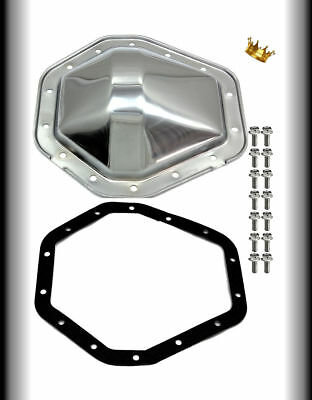 CHROME CHEVY 10 Bolt Rear End Cover Gasket and Bolts fits Camaro S10