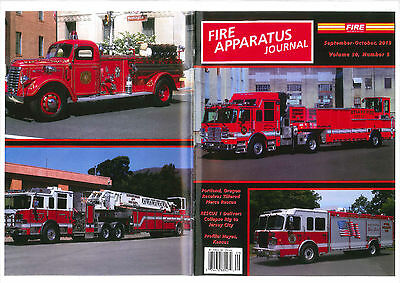 FAJ FIRE APPARATUS JOURNAL,SEPT/OCT 2013,Jersey City Collaps Rig,FDNY,Portland