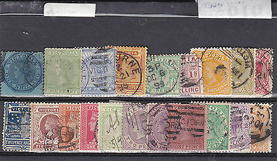STAMPS..Australia..Victoria , x 20 all used , nice ones