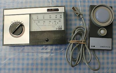 Eagle PU 150 Luxmeter, With Carrying Case and Instructions, GWO