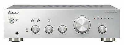 Pioneer A10 Integrated Stereo Amplifier Silver