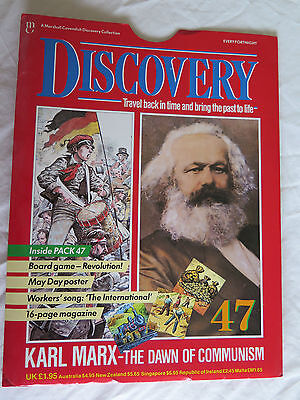 MARSHALL CAVENDISH DISCOVERY Pt 47 KARL MARX - THE DAWN OF COMMUNISM