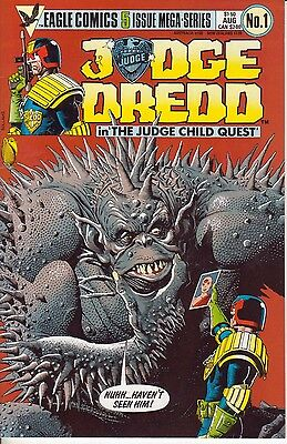 Judge Dredd The Judge Child Quest (1984) #1