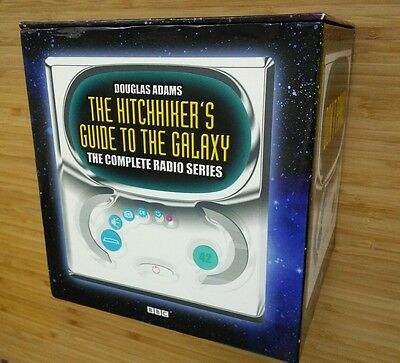 The HITCHIKER'S GUIDE to the GALAXY - COMPLETE BBC Radio Series 14 CD Audio Book