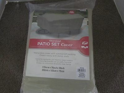 Oversized Patio Set Cover, Patio Deck, Outdoor Funiture, Patio Cushions & Pads