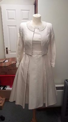 Irresistible Mother of the Bride Gold Sparkle A Line Size 12 BNWT RRP £850