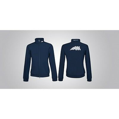 Equiline Derey Unisex Jacket Navy Medium