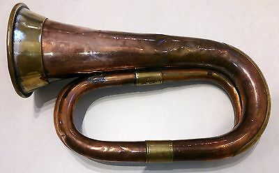 Henry Potter & Co London 1917 Antique military BUGLE