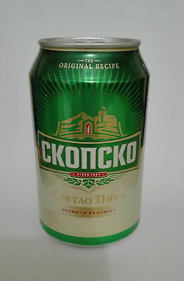 Skopsko  Beer Can Full 0.33L Macedonia