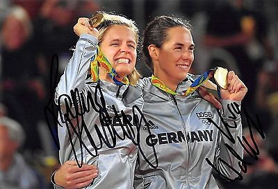 Laura Ludwig / Kira Walkenhorst - GER - Olympia 2016 - Beachvolleyball - GOLD -2
