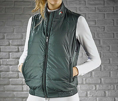 Equiline Roby Unisex Gilet Green Large