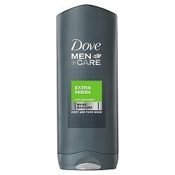 Dove Body & Face Douche Gel Extra Fresh - 6x 250ml