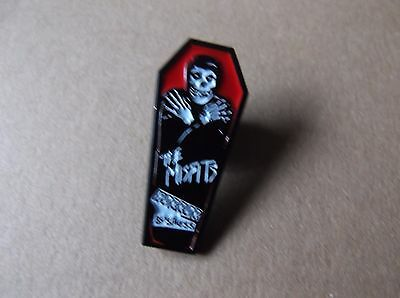 THE MISFITS horror business PUNK METAL BADGE very limited edition !