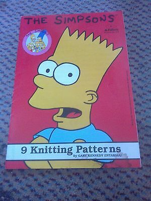 the simpsons 9 knitting patterns by gary kennedy