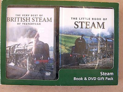 The Very Best Of British Steam Of Yesteryear. Book & Dvd.