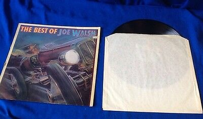 Vinyl album LP. The Best of Joe Walsh