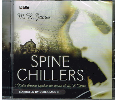 BBC Radio - Spine Chillers by M. R. James - Audio Book On CD - NEW & SEALED