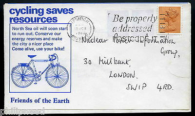 Cycling Saves North Sea Oil Friends Of Earth Ipswich Suffolk 1980 Cover [A45