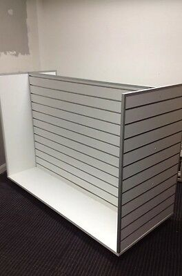 White H Style Display Slatwall for Shop Fitting
