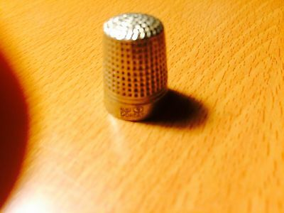 Antique Dorcas-Charles Horner Sterling Sewing Thimble