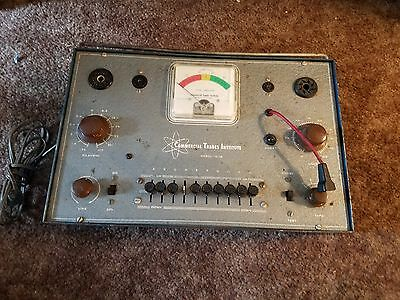 commercial trades institute tube tester TC 10