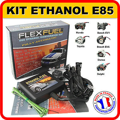 Kit Ethanol E85 - 4 Cyl., Kit De Conversion Bioethanol E85, Flex Fuel Kit,