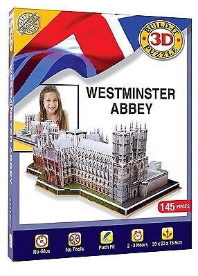 Chestwell Games 3D Puzzle - Westminster Abbey 145pcs