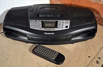 PANASONIC RX-DS18 Stereo Hi-Fi Boombox Radio, CD, Tape Player - Good Condition