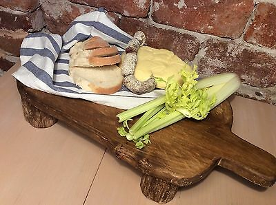 Vintage Bread Wooden Large Chopping Board