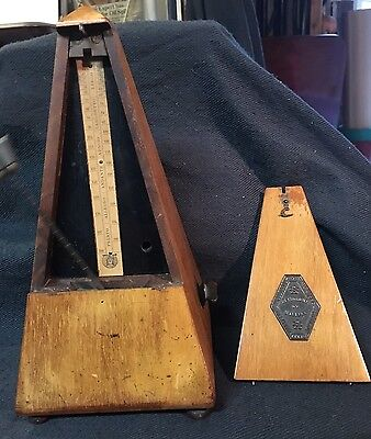 Antique Metronome Maelzel Paris.  GWO.