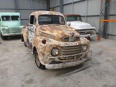 1948 Ford F1 1/2 ton pickup ute patina suit Ford F100 F1 chevy hotrod ute builde