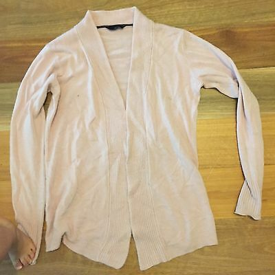 MAKE YOUR OWN BUNDLE Maternity Pregnancy Clothes Musky Pink Cardigan Jumper Sz S