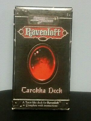 Ravenloft Tarokka Deck Dungeons & Dragons collectors item WW15049 Tarot cards