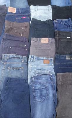 Wholesale Joblot JEANS x 50 Pairs Ladies Mens Mixed - Quality Clothing