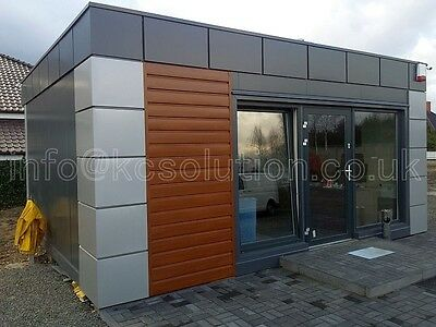 Price per 1 SQ/M Modern pavilion, portable cabin,modular building, sales office