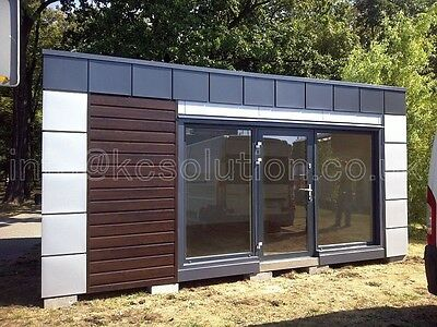 Modern pavilion,portable cabin,modular building price for 1 square meter