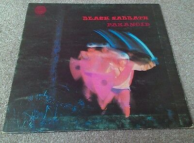 Black Sabbath Paranoid 1970 6360 011 1970 vinyl LP Original