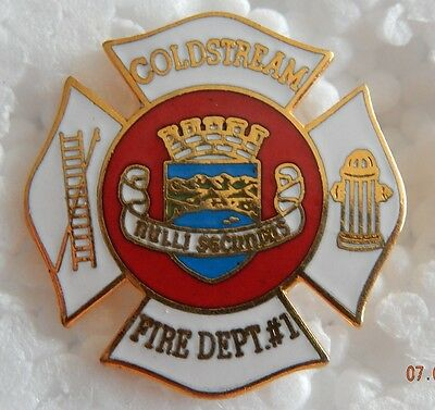 Coldstream BC Fire Department Pin